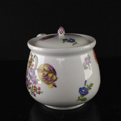 Meissen cream pot , deutscheblumen flowers, c.1765 -3175