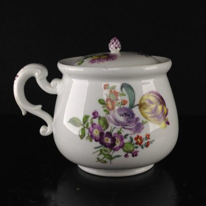 Meissen cream pot , deutscheblumen flowers, c.1765 -3177