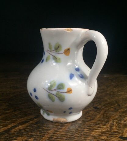 French faience cream jug, c.1780 -14774