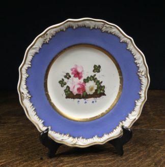 "Samuel Alcock plate ""melting snow"", Circa 1830-0"