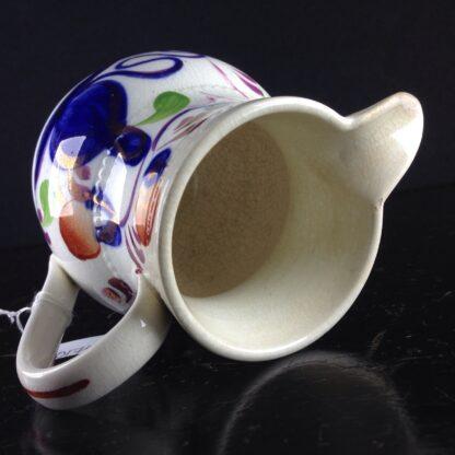 English Gaudy Welsh jug, c.1850. -3797