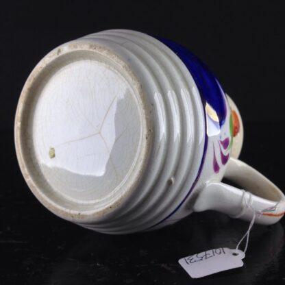 English Gaudy Welsh jug, c.1850. -3801