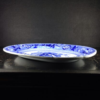 Riley Drapers Guild armorial blue & white serving dish, C. 1820 -3868