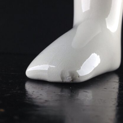Wedgwood creamware 'Sock Boot', C. 1890 -3989