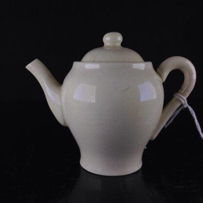 Miniature creamware teapot & cover, C. 1800 -4044