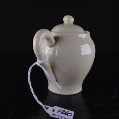 Miniature creamware teapot & cover, C. 1800 -4045