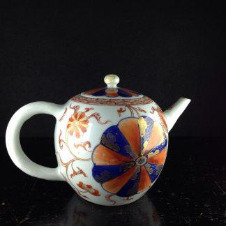 Chinese Imari teapot, C. 1720. -0