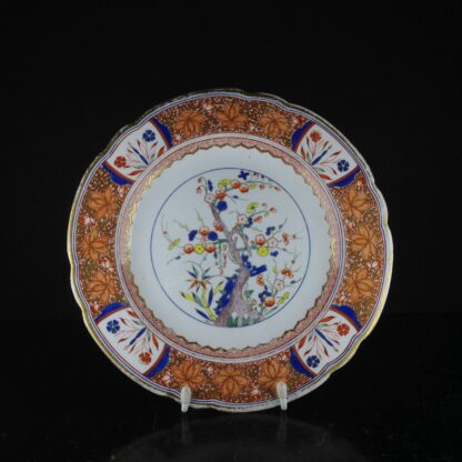 Spode plate, Tree of Life pattern 282, C. 1810 -0