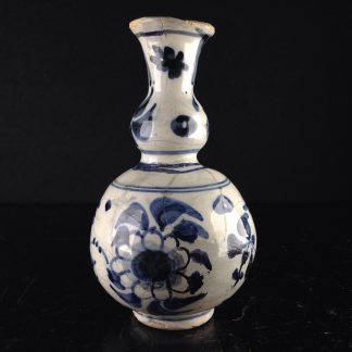 Dutch Delft small vase, in the Chinese style, c. 1720. -0