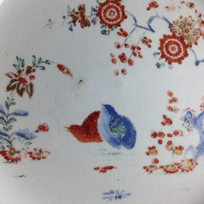 Bow quail pattern plate C. 1755. -4220