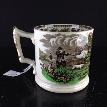 Cork, Edge & Malkin mug, 'Field Sports' prints, c.1860-71-4248