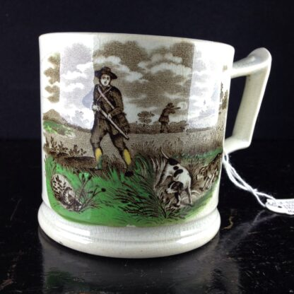 Cork, Edge & Malkin mug, 'Field Sports' prints, c.1860-71-4251