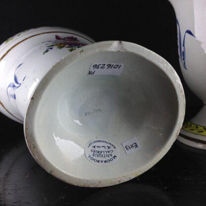 Pair of French creamware vases, c. 1800-4264
