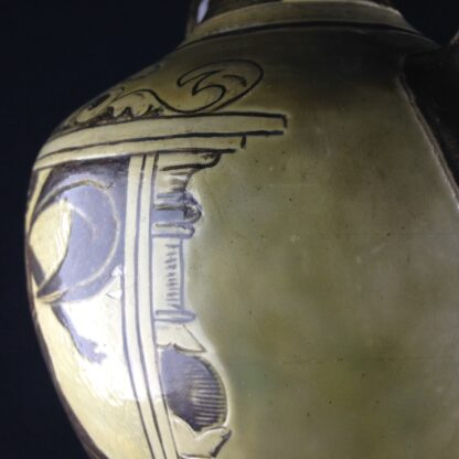 Martin Brothers 'Greek' vase, C. 1885. -4324