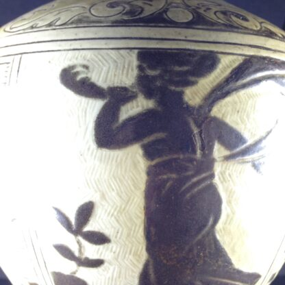 Martin Brothers 'Greek' vase, C. 1885. -4325