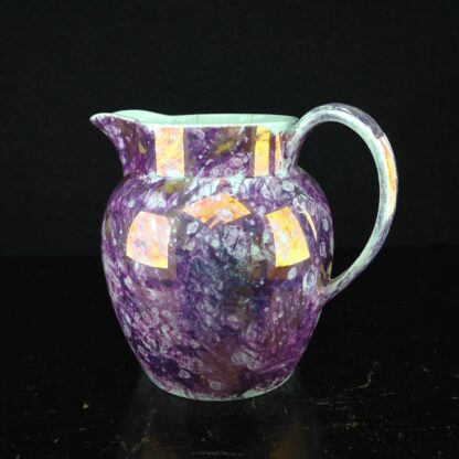 Wedgwood purple lustre jug, Pearlware body, c.1810. -4375