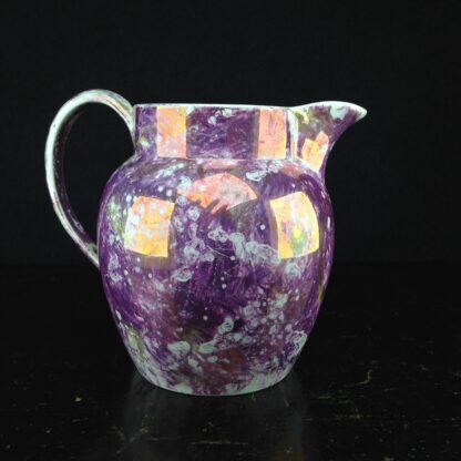 Wedgwood purple lustre jug, Pearlware body, c.1810. -0
