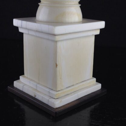 Ivory column thermometer, C. 1810. -4520