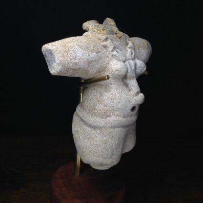 Pre-Columbian figure, Veracruz, Gulf of Mexico 300-600AD-0