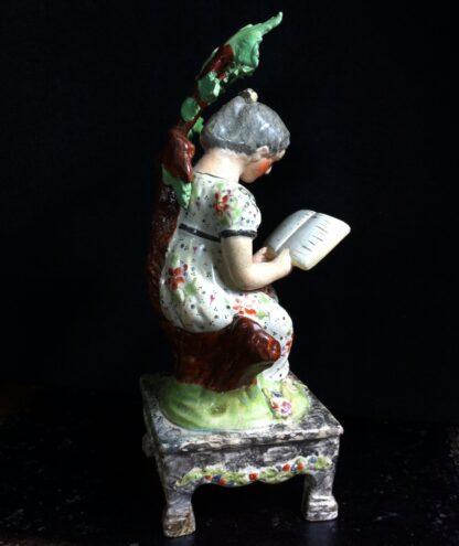 Staffordshire figure 'The Village Maid', C. 1830 -10919