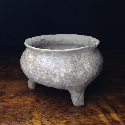 Early Chinese pottery 'Ding' vessel, 722 - 481 BC. -0