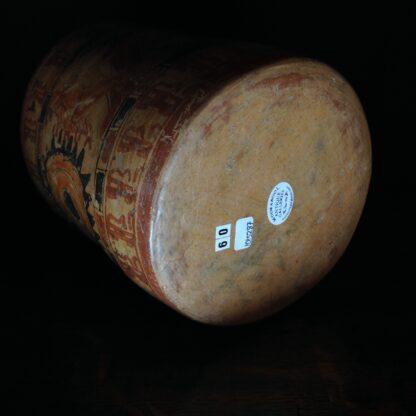 Mayan cylinder beaker, Hero Twins, c.800AD -4775