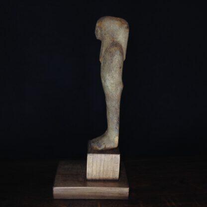 Egyptian Ptah-Sokar-Osiris wood figure, 3rd Intermediate, 1085-656 BC -4858