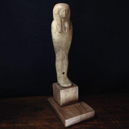 Egyptian Ptah-Sokar-Osiris wood figure, 3rd Intermediate, 1085-656 BC -0