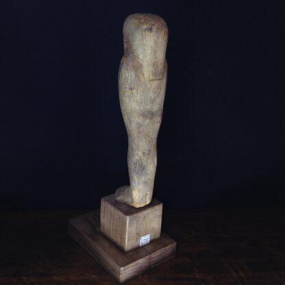 Egyptian Ptah-Sokar-Osiris wood figure, 3rd Intermediate, 1085-656 BC -4860