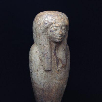 Egyptian Ptah-Sokar-Osiris wood figure, 3rd Intermediate, 1085-656 BC -4861