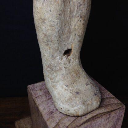 Egyptian Ptah-Sokar-Osiris wood figure, 3rd Intermediate, 1085-656 BC -4862