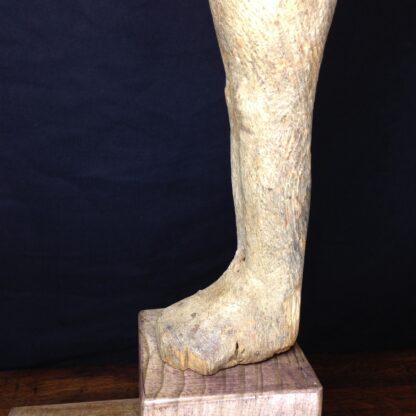 Egyptian Ptah-Sokar-Osiris wood figure, 3rd Intermediate, 1085-656 BC -4865