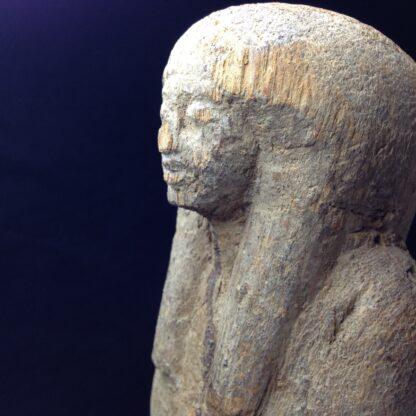 Egyptian Ptah-Sokar-Osiris wood figure, 3rd Intermediate, 1085-656 BC -4867