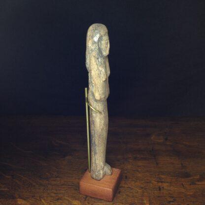 Wood shabti figure, late period, 664-342 BC -4881