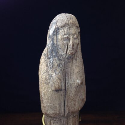 Wood shabti figure, late period, 664-342 BC -4883