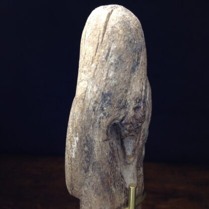 Wood shabti figure, late period, 664-342 BC -4884