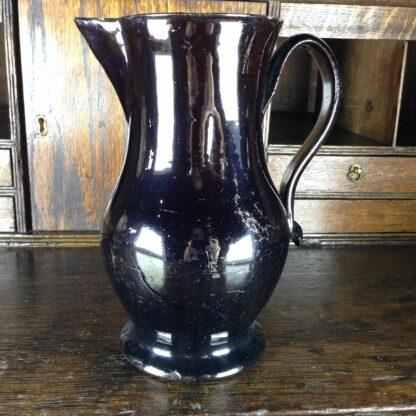 Large Jackfield jug, C. 1765 -0