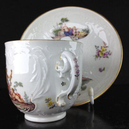 Meissen cup & saucer, Bacchus scenes, C. 1745 -5941