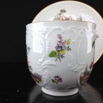 Meissen cup & saucer, Bacchus scenes, C. 1745 -5944