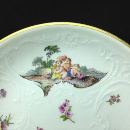 Meissen cup & saucer, Bacchus scenes, C. 1745 -5947
