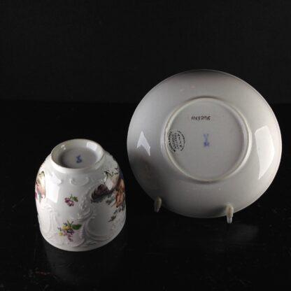 Meissen cup & saucer, Bacchus scenes, C. 1745 -5948