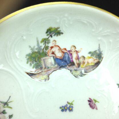 Meissen cup & saucer, Bacchus scenes, C. 1745 -5950