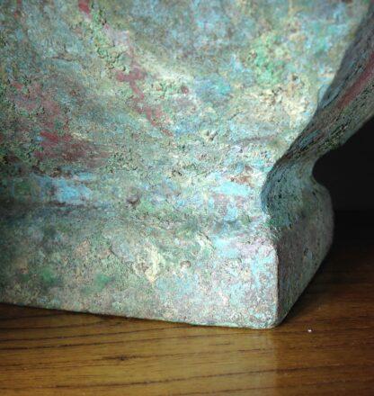 Bronze Fang Hu vase, Han dynasty , 206 BC - 221 AD -8854