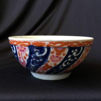 Worcester Queen Charlotte pattern slop bowl c.1765 -0