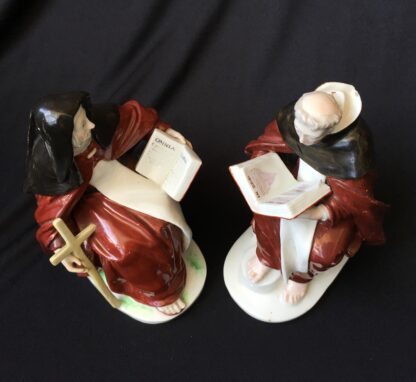 Pair of Derby figures - Nun & Priest - C. 1760 -19919