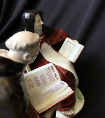 Pair of Derby figures - Nun & Priest - C. 1760 -19920