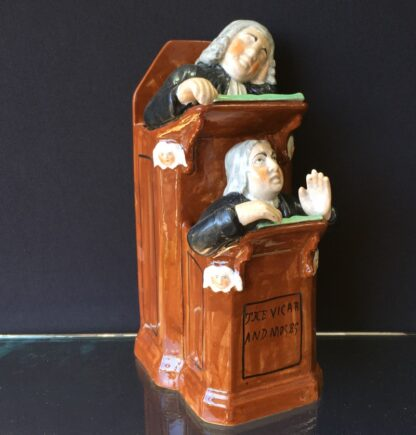 Staffordshire The Vicar & Moses figure, circa 1830 -23842