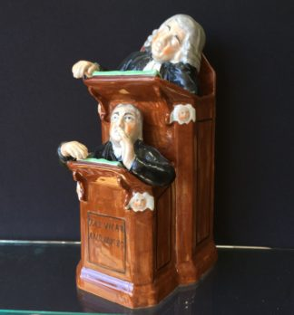 Staffordshire The Vicar & Moses figure, circa 1830 -0