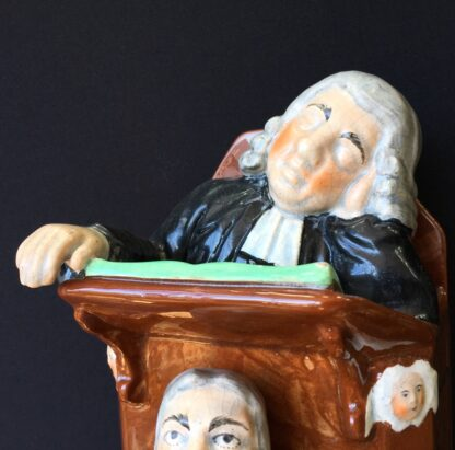 Staffordshire The Vicar & Moses figure, circa 1830 -23843