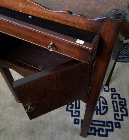 George III mahogany bedside cabinet, C. 1790 -24877